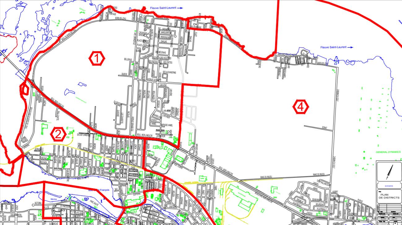 Carte district 1 et 2