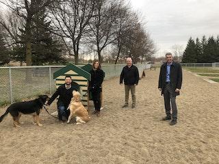 COMM 2020 Inauguration parc canin parc des batisseurs