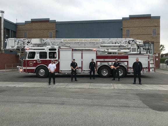 COMM 2020 Incendie Camion Echelle Plateforme Pompier Caserne 8